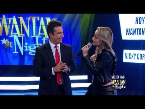 Wantan Night - Vicky Corbacho cantando 'Que bonito'
