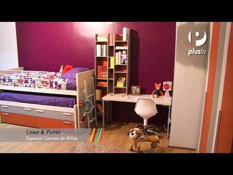 Línea y punto - Dormitorios infantiles
