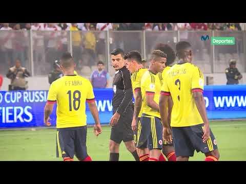 Perú 1 - 1 Colombia: Vive el pase al repechaje al ras de la cancha
