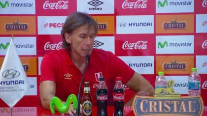 Movistar Deportes - Conferencia Ricardo Gareca (DT Selección Peruana)