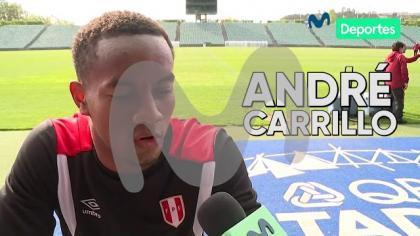 Perú vs. Nueva Zelanda: André Carrillo tiene claro cómo jugar ante los All Whites