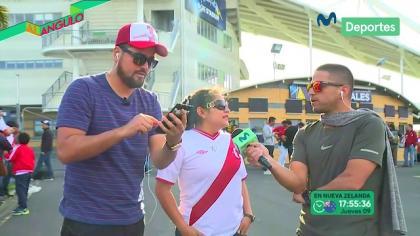 Conoce a Kely Navarro, la hincha de Perú que le robó un selfie a Ricardo Gareca en Nueva Zelanda