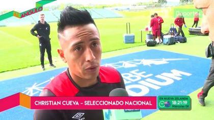 Christian Cueva habló del Perú vs. Nueva Zelanda y 'trolleó' a Pedro García