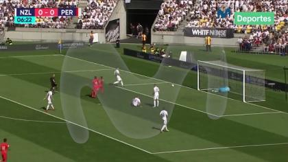 Perú vs. Nueva Zelanda: Blooper de los All Whites casi nos da el primero