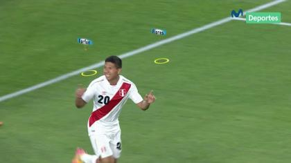 Perú vs. Croacia: el golazo de Edison Flores tras excelente jugada gruapl