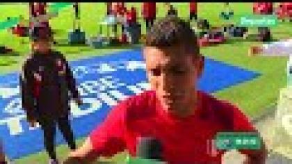 Paolo Hurtado se visualiza en el Perú vs. Nueva Zelanda