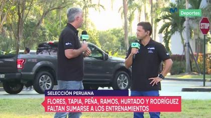 La Blanquirroja: Selección Peruana entrena por la tarde en Miami