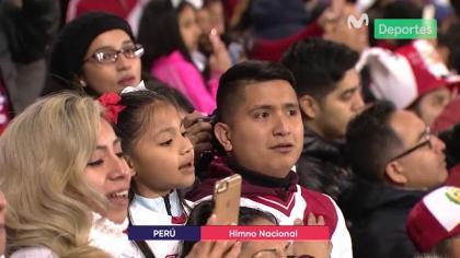 Perú vs. Islandia: así fue la emotiva entonación del himno nacional en el Red Bull Arena