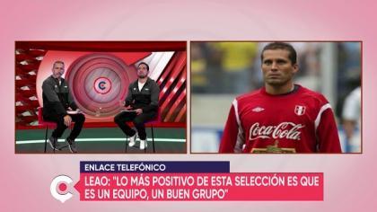 Leao Butrón habla sobre la lesión que lo marginó del Ecuador - Perú