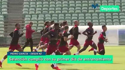 Perú vs. Nueva Zelanda: El primer entrenamiento de la selección en Auckland