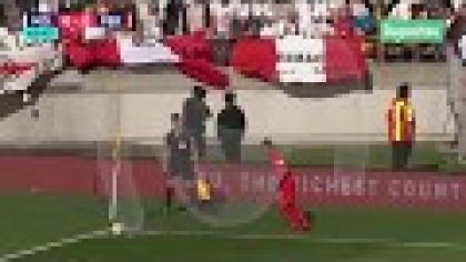 Perú vs. Nueva Zelanda: Aldo Corzo tuvo la más clara de cabeza